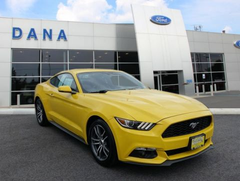 Certified Pre-Owned 2016 Ford Mustang EcoBoost RWD Coupe