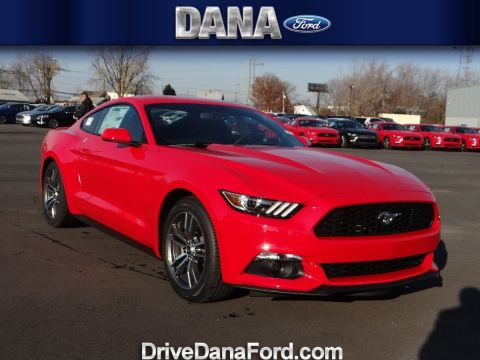 New 2017 Ford Mustang EcoBoost Premium With Navigation