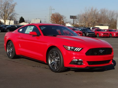 New 2017 Ford Mustang EcoBoost Premium RWD Coupe
