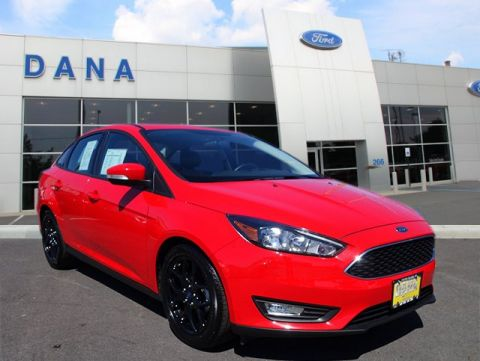 Certified Pre-Owned 2016 Ford Focus SE FWD Sedan