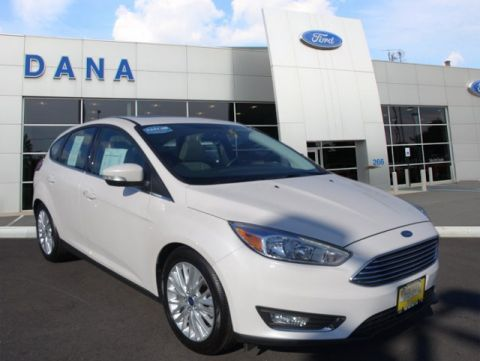 Certified Pre-Owned 2016 Ford Focus Titanium FWD Hatchback