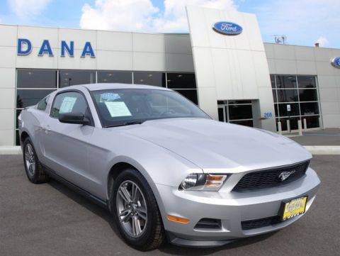 Certified Pre-Owned 2012 Ford Mustang V6 RWD Coupe