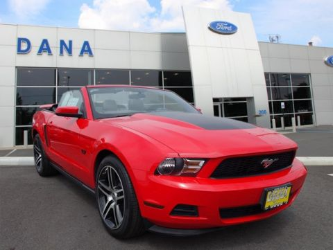 Certified Pre-Owned 2012 Ford Mustang V6 RWD Convertible
