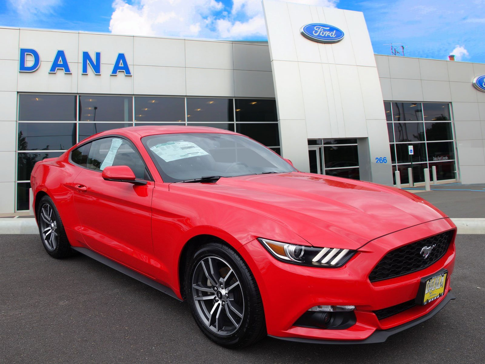 Pre-Owned 2017 Ford Mustang ECOBOOST PREMIUM--4,600 MILES