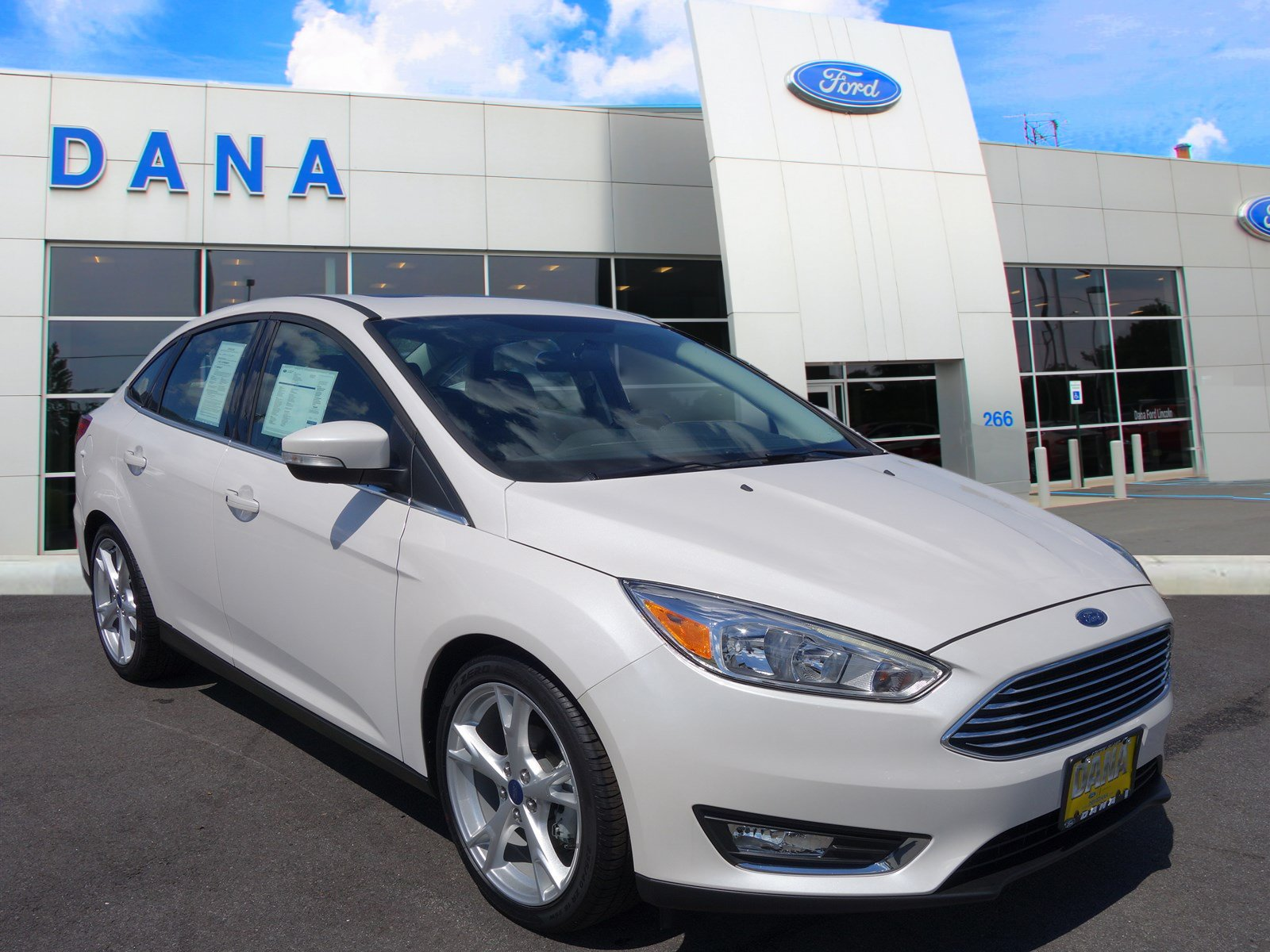 certified pre owned 2015 ford focus titanium