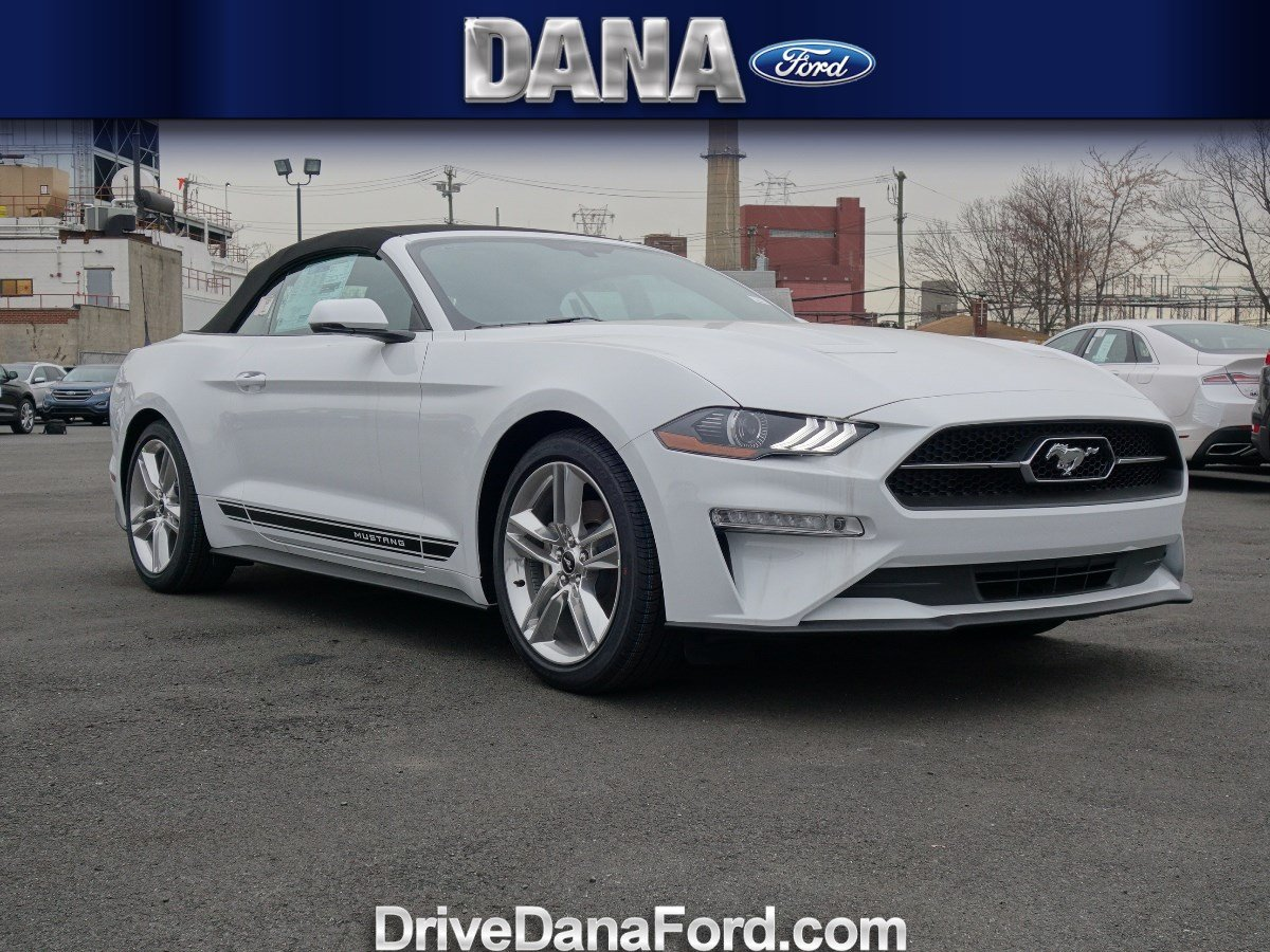 new 2018 ford mustang ecoboost premium convertible in staten island 120240 dana ford. Black Bedroom Furniture Sets. Home Design Ideas