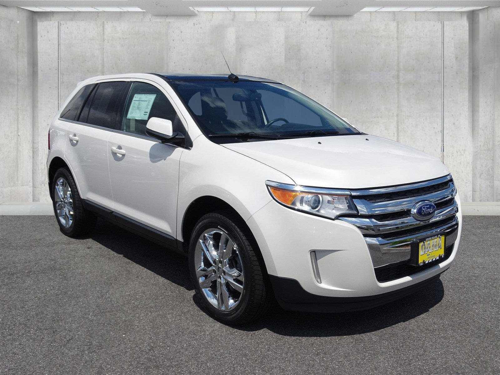 Certified Pre Owned  Ford Edge Certified Nav Moon
