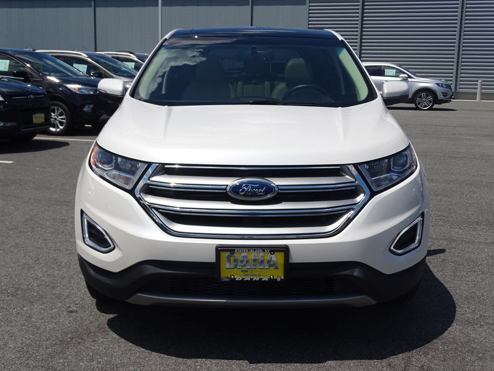 Certified Pre Owned  Ford Edge Certified Sel Nv Panoroof