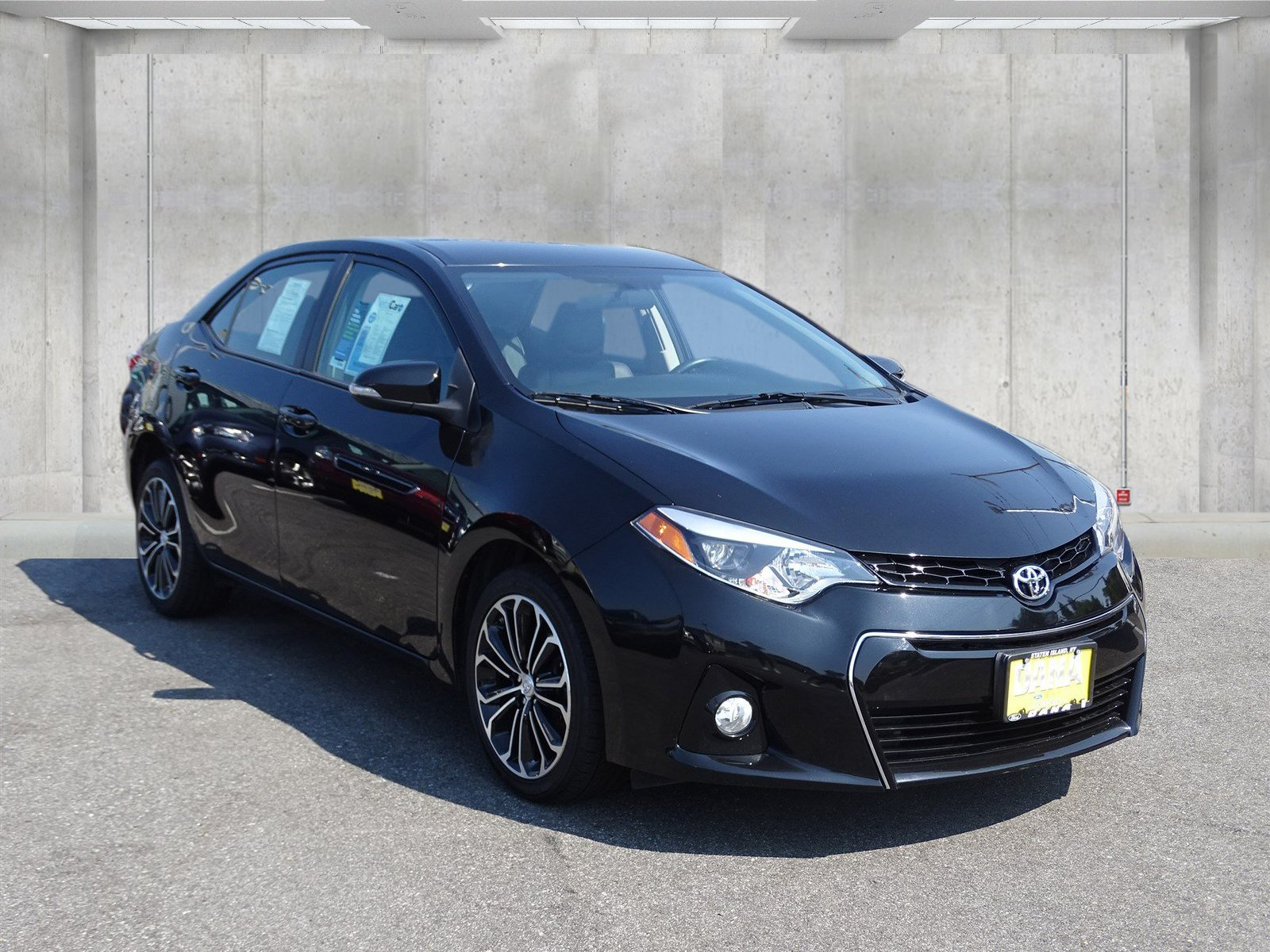 Toyota Corolla Tire Pressure Indicator 2015 Low Warning Light Pre Owned Sedan In Staten Island 1600x1200